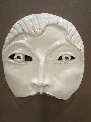 Mask without a mouth